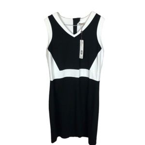 NWT Spanner Dress Black White Size 2